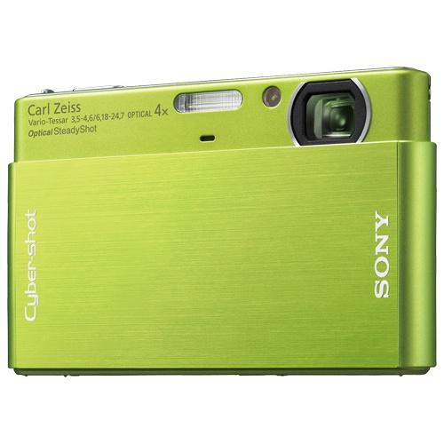 Sony CyberShot DSC-T77 green