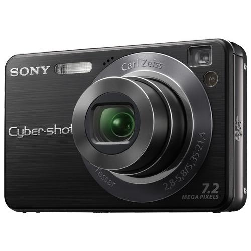 Sony CyberShot DSC-W120 black