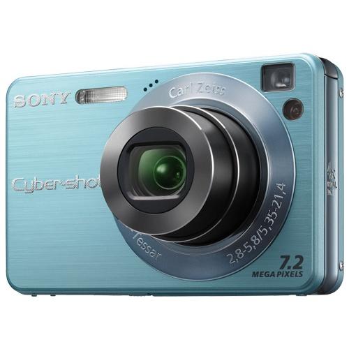 Sony CyberShot DSC-W120 blue