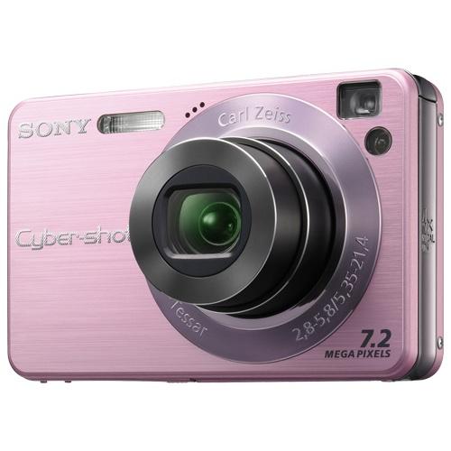 Фотография Sony CyberShot DSC-W120 pink