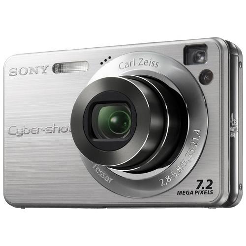 Sony CyberShot DSC-W120 silver