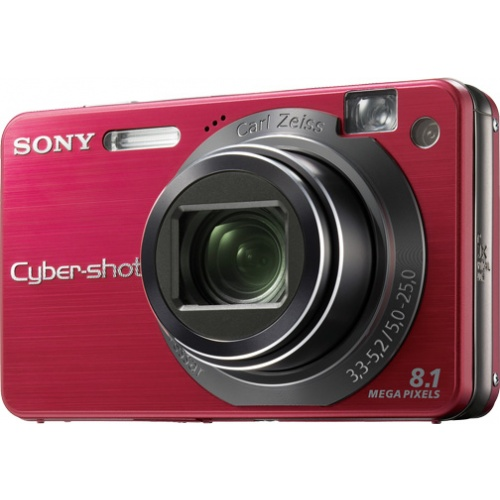 Sony CyberShot DSC-W130 red