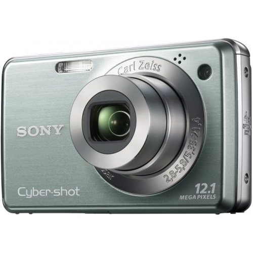 Фотография Sony CyberShot DSC-W210 green