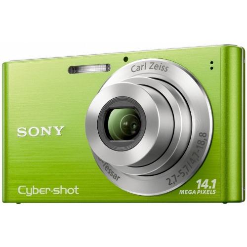 Sony CyberShot DSC-W320 green