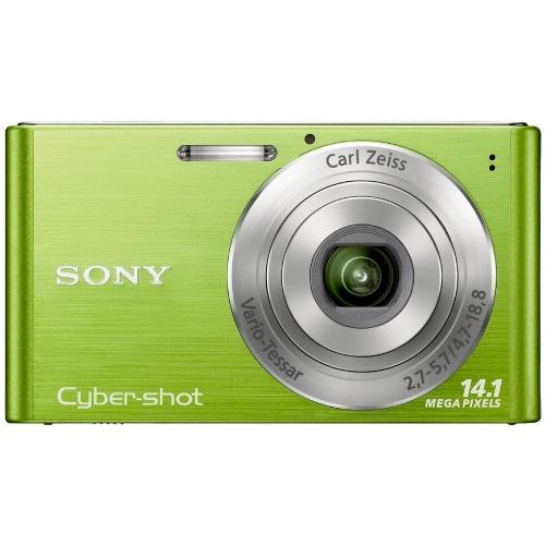 Фото Sony CyberShot DSC-W320 green