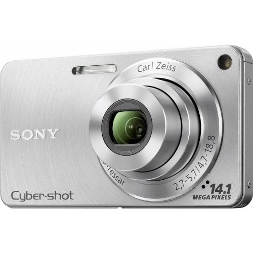 Sony CyberShot DSC-W350 silver