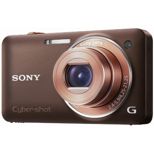 Sony CyberShot DSC-WX5 brown