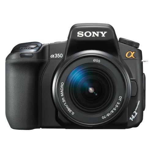 Фотография Sony DSLR-A350 (kit 18-70)