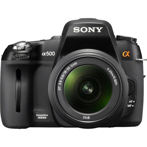 Sony DSLR-A550 (kit 18-55 + 55-200)