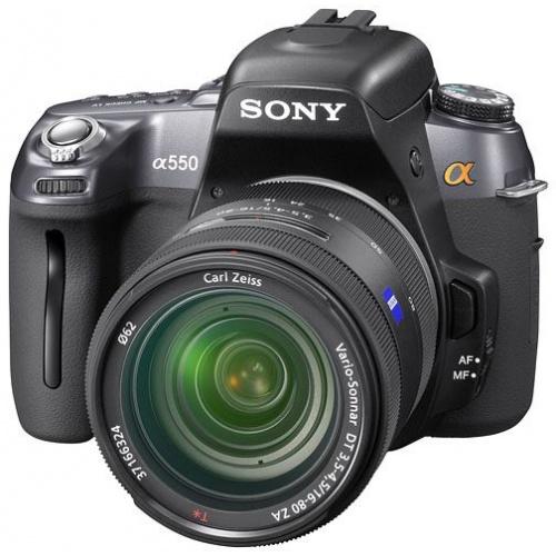 Фото Sony DSLR-A550 (kit 18-55 + 55-200)