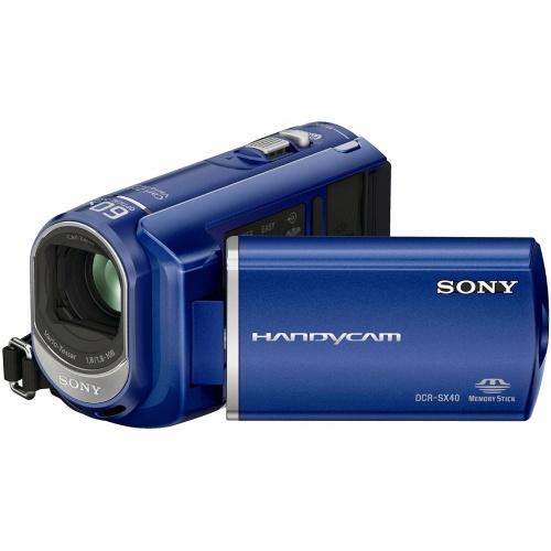 Sony DCR-SX40EL blue