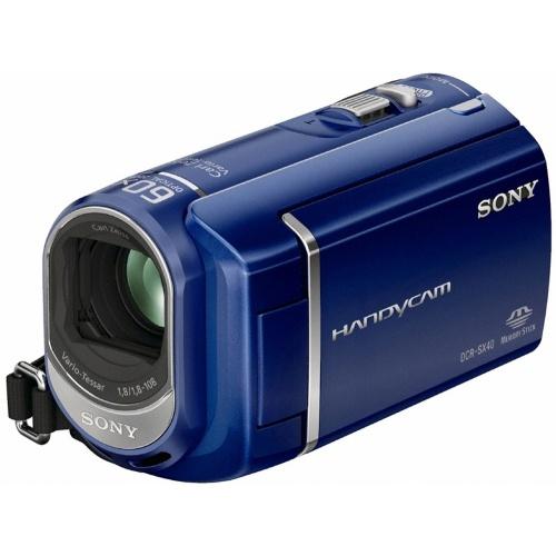 Фото Sony DCR-SX40EL blue