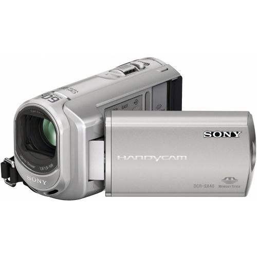Sony DCR-SX40ES silver