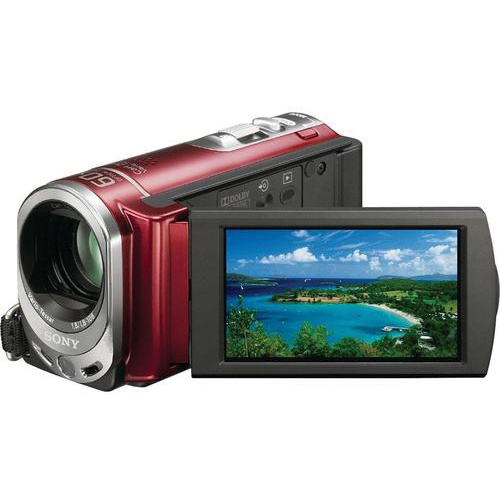 Фотография Sony DCR-SX44E red