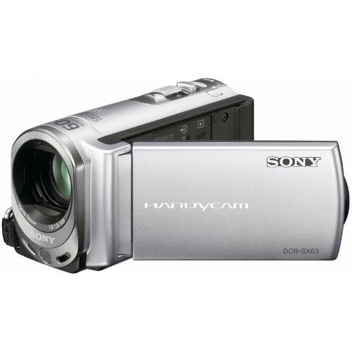 Sony DCR-SX63E silver