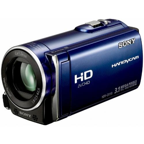Sony HDR-CX110EL blue