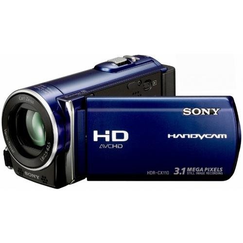 Фото Sony HDR-CX110EL blue