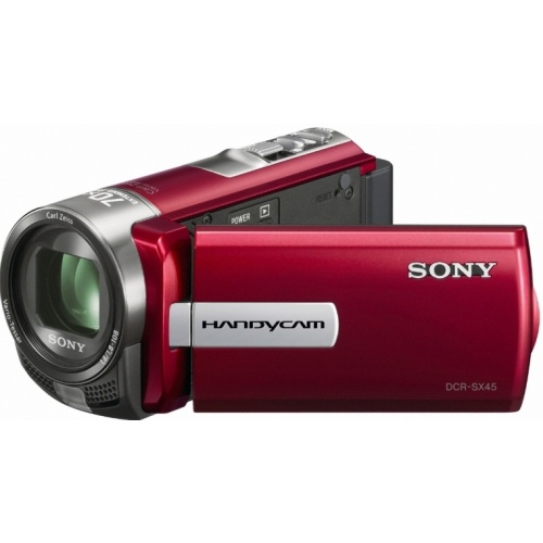 Sony DCR-SX45 red
