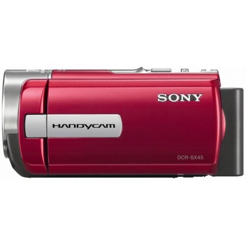 Фото Sony DCR-SX45 red
